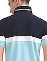 Nautica Short Sleeve Engineered Chest Stripe Polo