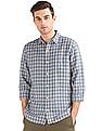 GAP Linen Cotton Plaid Shirt