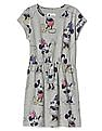 GAP Girls Grey Gapkids | Disney Mickey Mouse And Minnie Mouse T-Shirt Dress