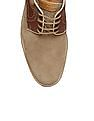 Johnston & Murphy Contrast Panel Suede Derby Shoes
