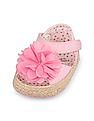 The Children's Place Baby Girls Pink Lily Espadrille