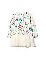 GAP Baby Logo Floral Double Layer Tulle Dress
