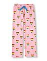 The Children's Place Girls Rainbow Heart Print Pyjama Pants