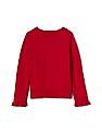 GAP Toddler Girl Disney Baby Minnie Mouse Ruffle Sweater
