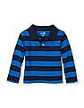 The Children's Place Toddler Boy Full Sleeve Striped Polo Shirt