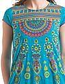 Anahi Printed Short Sleeve Kurta