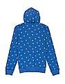 FM Boys Boys Contrast Print Hooded Sweatshirt
