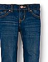 The Children's Place Girls Basic Skinny Jeans - Medium Blue Wash
