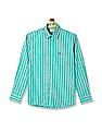 Arrow Sports Striped Regular Fit Shirt