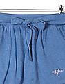 U.S. Polo Assn. Kids Girls Standard Fit Solid A-Line Skirt