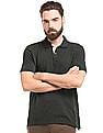 True Blue Speckled Slim Fit Polo Shirt