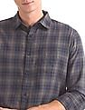 Roots by Ruggers Patch Pocket Check Shirt