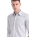 Excalibur Slim Fit Printed Shirt