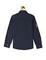 FM Boys Boys Long Sleeve Appliqued Shirt
