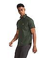 U.S. Polo Assn. Green Patch Pocket Patterned Shirt